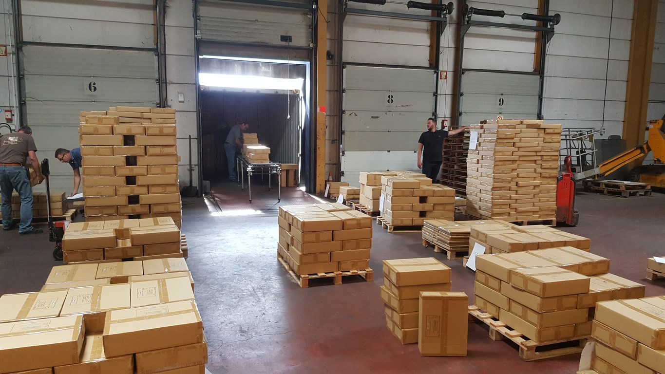 cross docking logistique